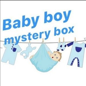 BABY BOYS 6-12 MONTH MYSTERY CLOTHING BOX!🎈